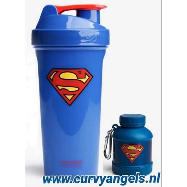 Smartshake beker Superman + Whey2Go