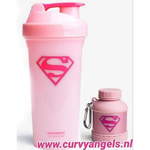 Smartshake beker SuperGirl + Whey2Go