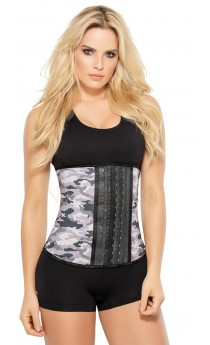 dcad17aa70 3 Hooks Camouflage Sport Waist Trainer